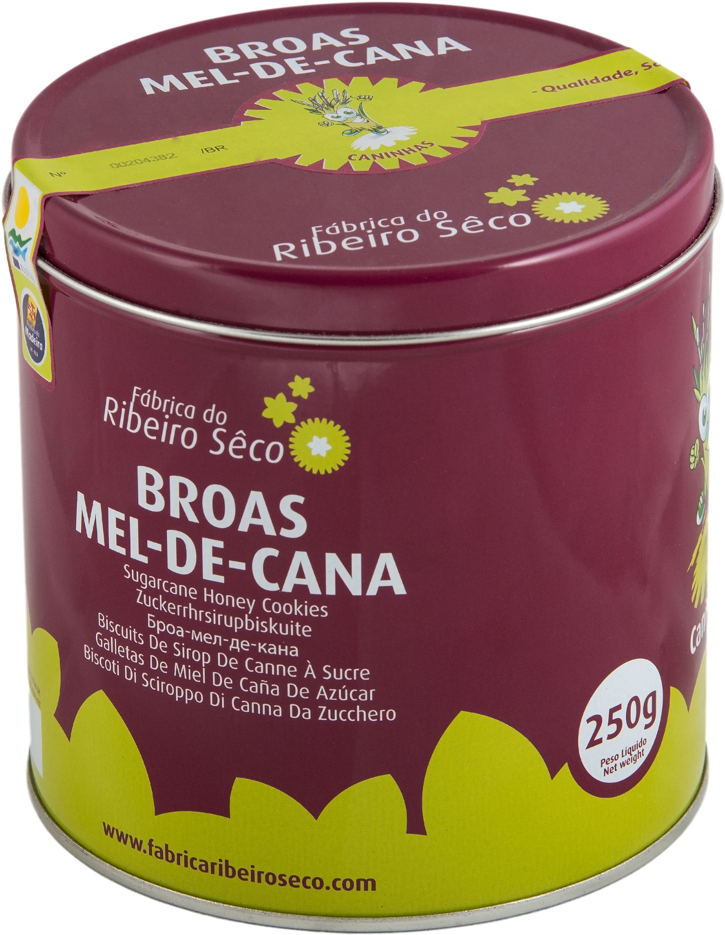 Lata broas 250g