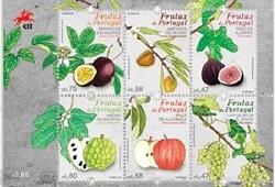 selos frutos portugal anona capa