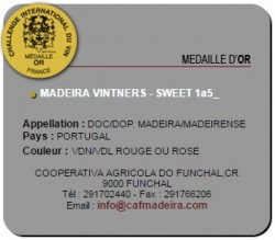 madeira vintners ouro