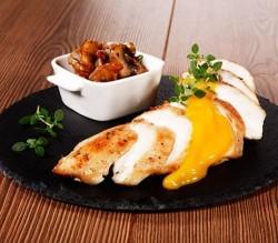 peito de frango com molho de manga