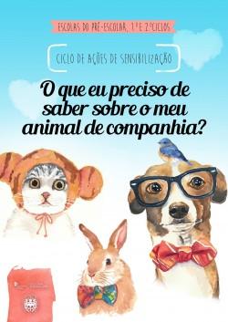 animais estimacao cartaz