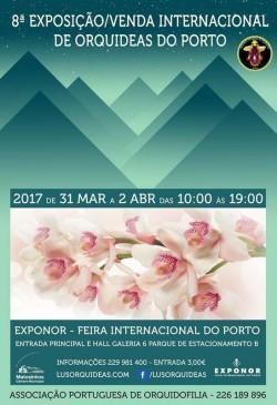 cartaz 8 expo orquideas porto