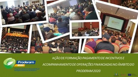 acao formacao pagamento incent PRODERAM2020