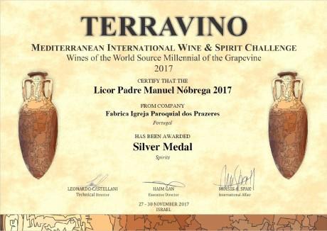 certificado terravino