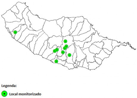 figura1 locais monitorizados torymus sinensis