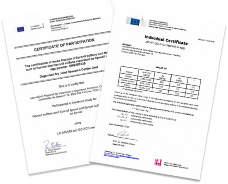 programa fipronil certificado