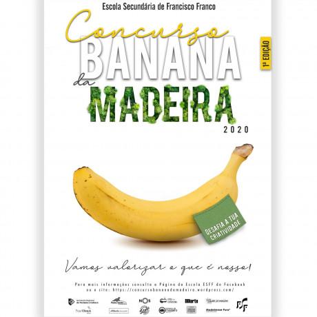 CONCURSO BANANA DA MADEIRA ESFF Cartaz