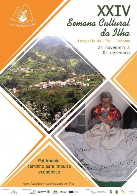 semana cultural da Ilha2018 CARTAZ DICA