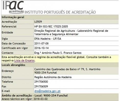 figura2 informacao disponibilizada pelo IPAC no diretorio das entidades acreditadas