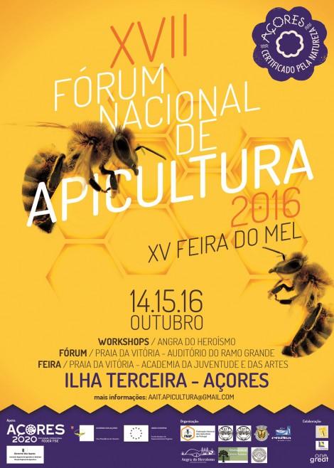 cartaz forum nacional apicultura