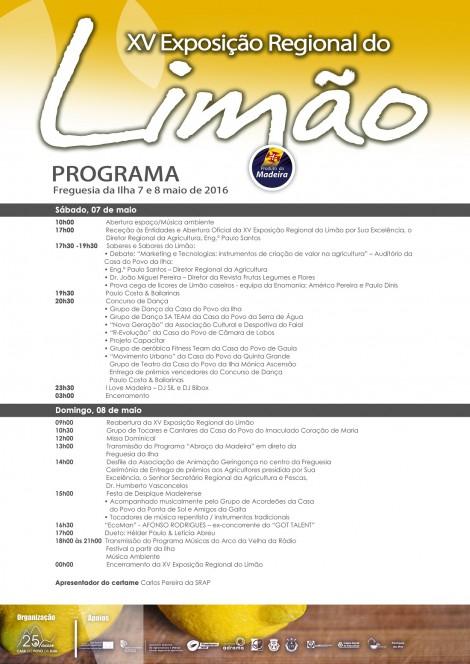 exp regional limao programa