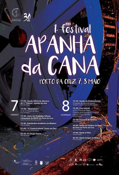 festival apanha da cana cartaz e programa